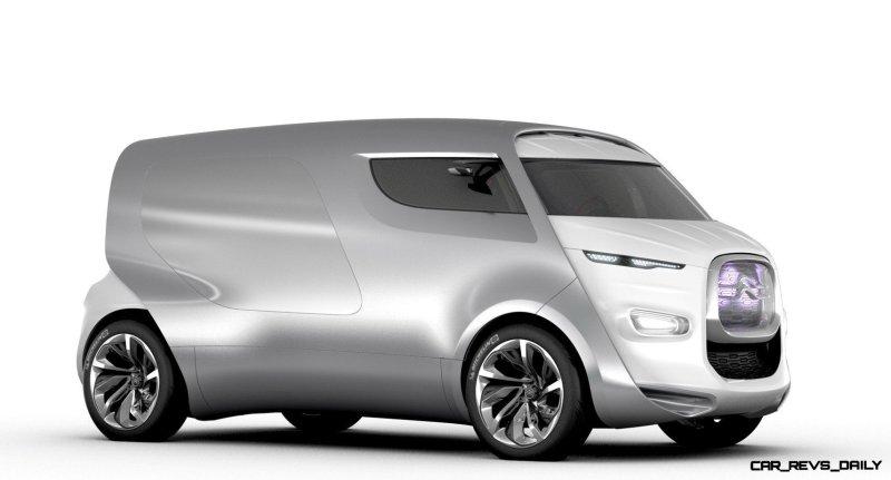 Concept Flashback - 2011 Citroen Tubik Brings Delightful Shapes of 1930's Tub Vans 5