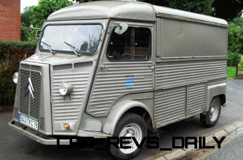 Concept Flashback - 2011 Citroen Tubik Brings Delightful Shapes of 1930's Tub Vans 9