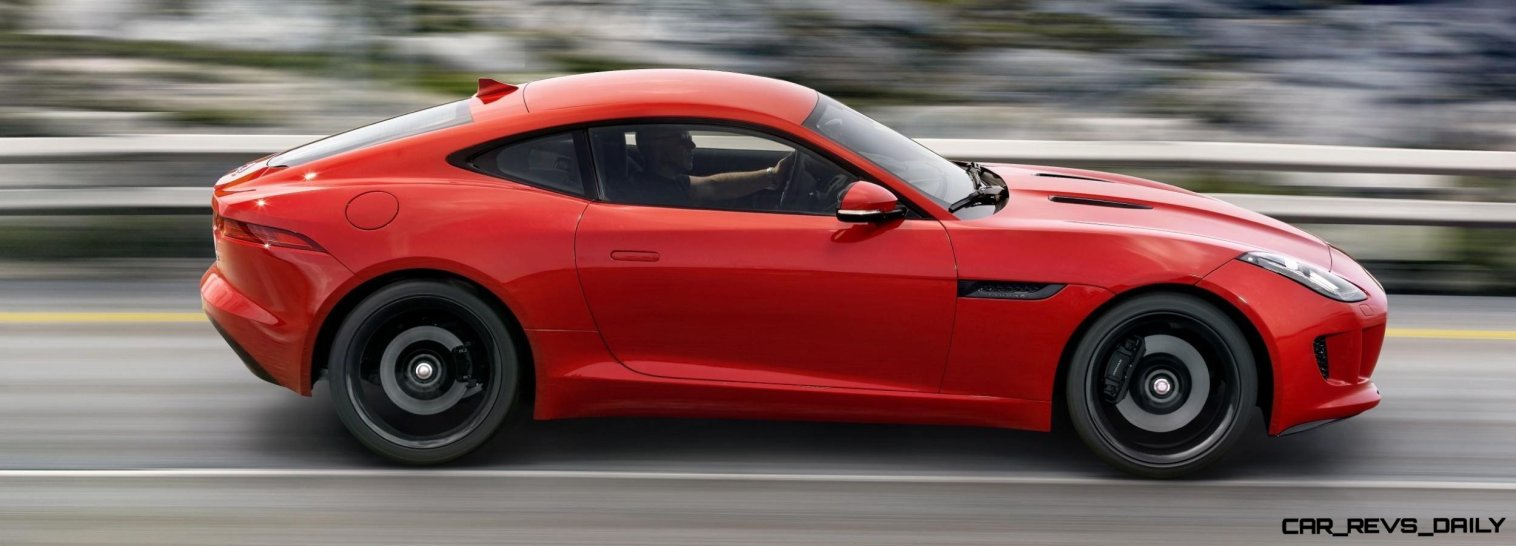 Jaguar Makes a WINNER! 2015 F-type Coupe Debuts Three Gorgeous Flavors, Pricing, Up to 550 HP!11