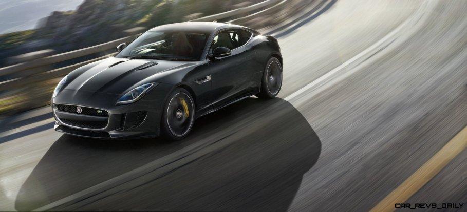 Jaguar Makes a WINNER! 2015 F-type R Coupe Debut2