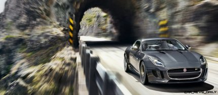 Jaguar Makes a WINNER! 2015 F-type R Coupe Debut6