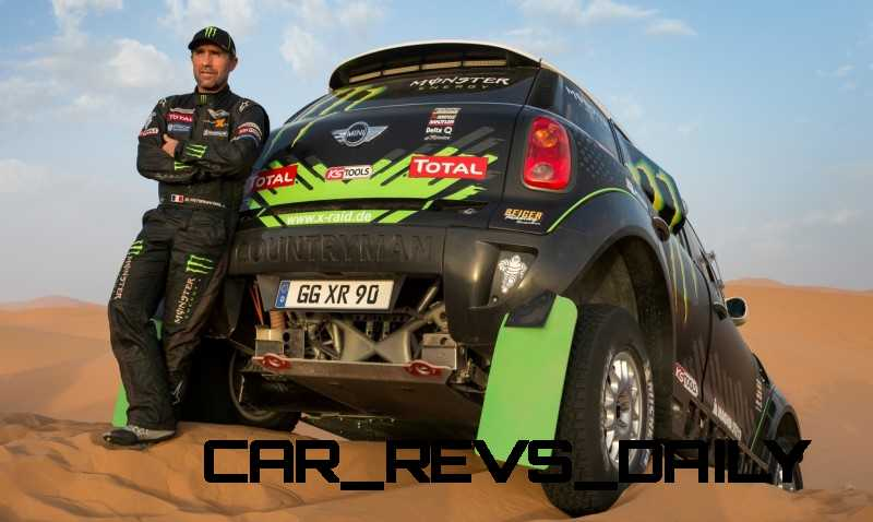 MINI Poised for Dakar Three-Peat with All4 Countryman Squad 22