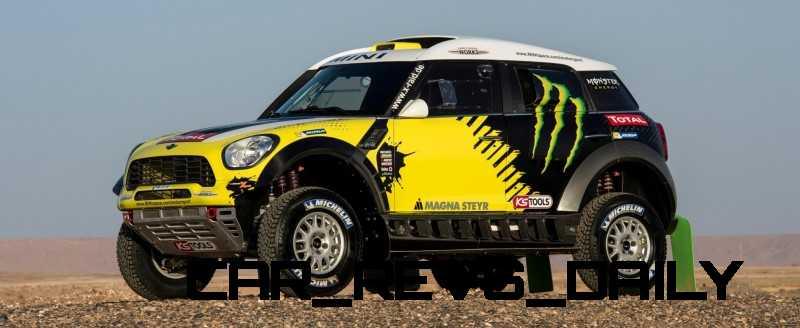 MINI Poised for Dakar Three-Peat with All4 Countryman Squad 30