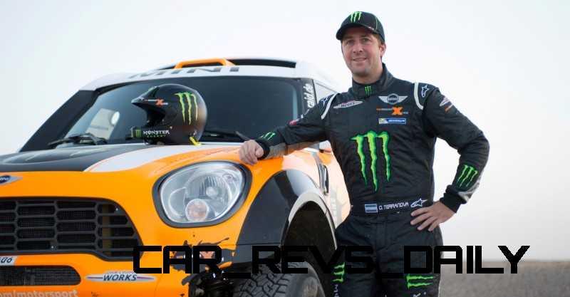 MINI Poised for Dakar Three-Peat with All4 Countryman Squad 37