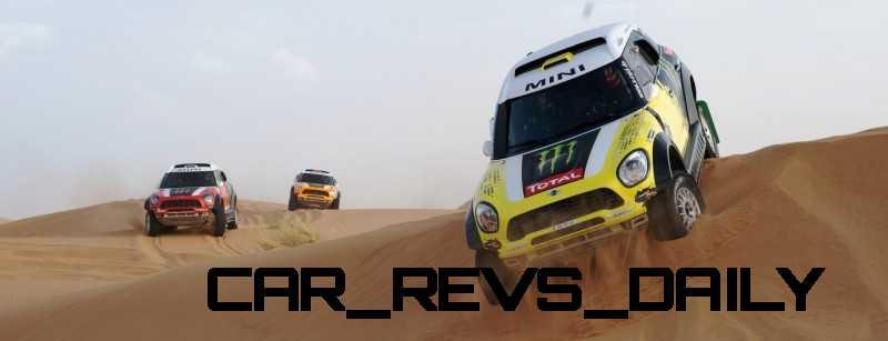 MINI Poised for Dakar Three-Peat with All4 Countryman Squad 48