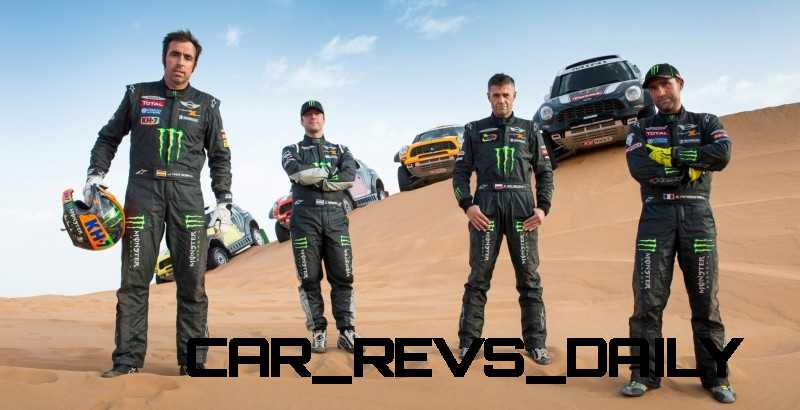 MINI Poised for Dakar Three-Peat with All4 Countryman Squad 49