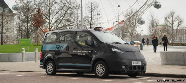 Street Level: Nissan's Taxi Hits London
