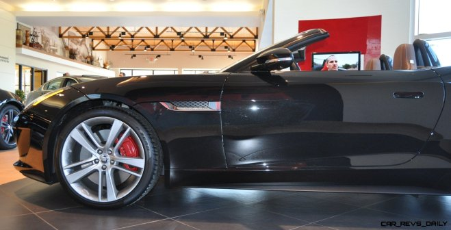 2014 Jaguar F-type S Cabrio - LED Lighting Demo and 60 High-Res Photos10
