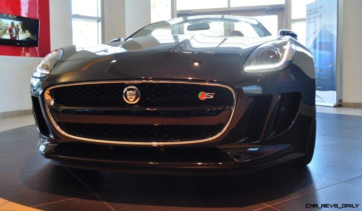 2014 Jaguar F-type S Cabrio - LED Lighting Demo and 60 High-Res Photos33