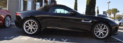 2014 Jaguar F-type S Cabrio - LED Lighting Demo and 60 High-Res Photos37
