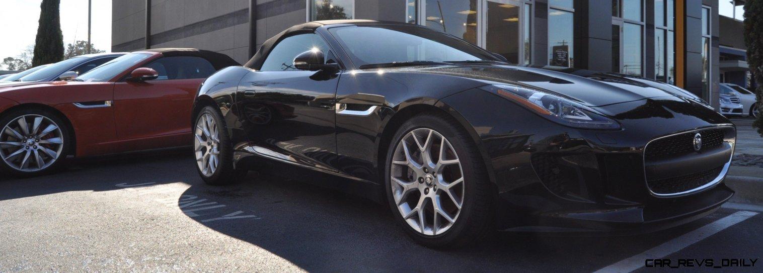 2014 Jaguar F-type S Cabrio - LED Lighting Demo and 60 High-Res Photos39