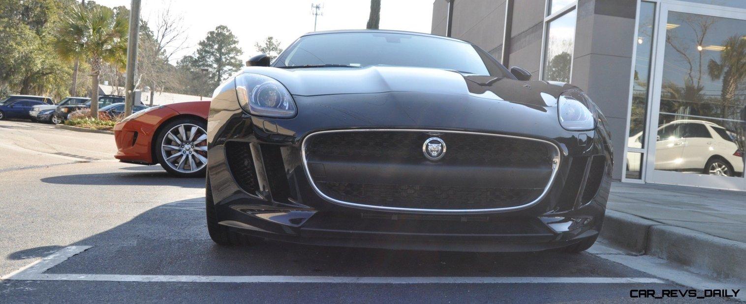 2014 Jaguar F-type S Cabrio - LED Lighting Demo and 60 High-Res Photos40