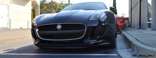 2014 Jaguar F-type S Cabrio - LED Lighting Demo and 60 High-Res Photos42
