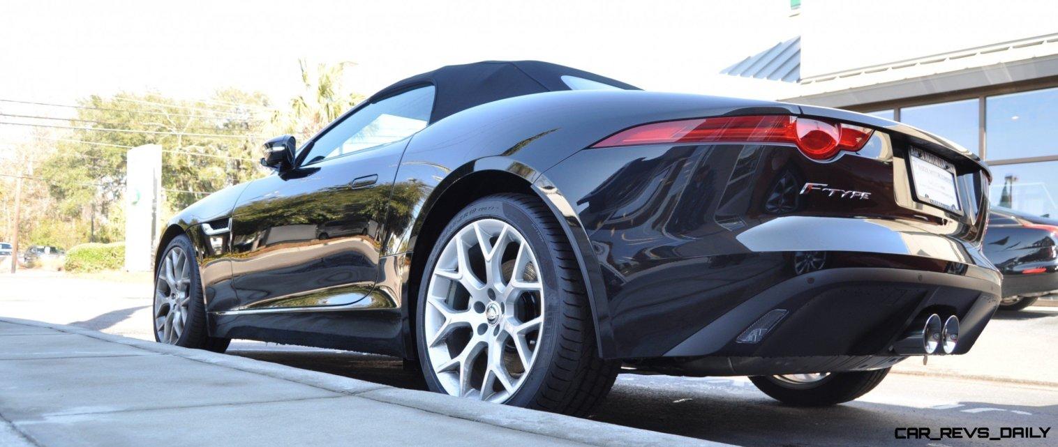 2014 Jaguar F-type S Cabrio - LED Lighting Demo and 60 High-Res Photos49
