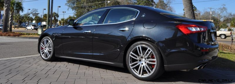 2014 Maserati Ghibli Looking, Sounding Marvelous -- 40+ All-New, High-Res Photos -- Available Now from $67k 13