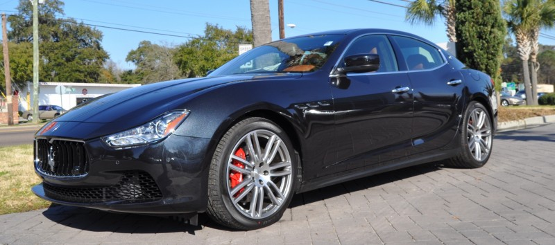2014 Maserati Ghibli Looking, Sounding Marvelous -- 40+ All-New, High-Res Photos -- Available Now from $67k 17