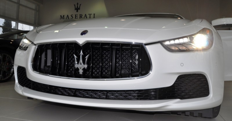 2014 Maserati Ghibli Q4 -- Interior Feels Luxe and High-Quality, But Back Seat A Bit Tight 17