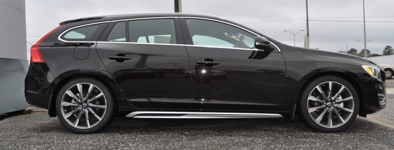 2015 Volvo V60 T5 Sport Pack -- Video Walkaround and 30 All-New Photos 25