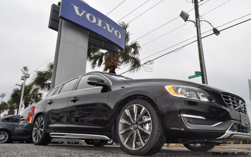 2015 Volvo V60 T5 Sport Pack -- Video Walkaround and 30 All-New Photos 28