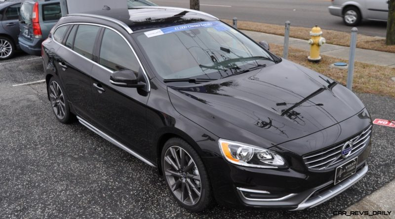 2015 Volvo V60 T5 Sport Pack -- Video Walkaround and 30 All-New Photos 7