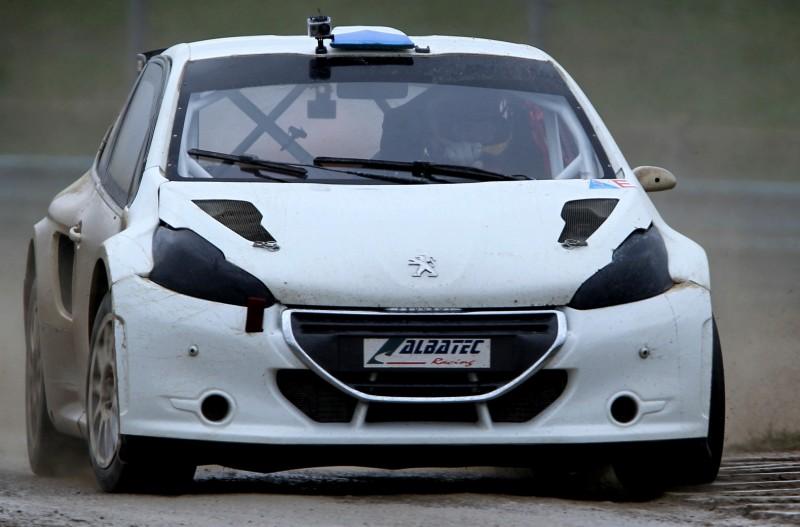 All-New FIA RallyCross Series Looks FUN! Dart, Sonic, Beetle, Fiesta, Fabia, Pug 208GTI and More On-Board 7