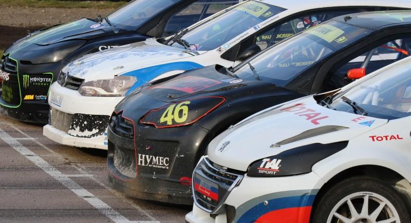 All-New FIA RallyCross Series Looks FUN! Dart, Sonic, Beetle, Fiesta, Fabia, Pug 208GTI and More On-Board 8