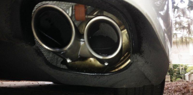 Car-Revs-Daily.com Recommends - Black Magic Tire Foam - Porsche Panamera S 37