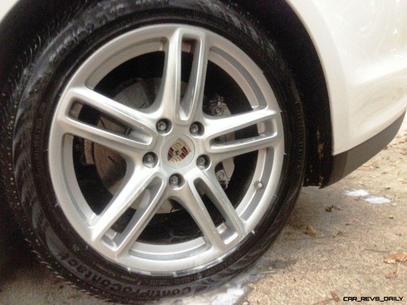 Car-Revs-Daily.com Recommends - Black Magic Tire Foam - Porsche Panamera S 39