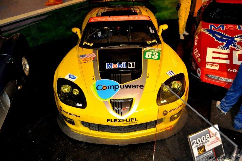 Corvette Museum -- The Racecars! 58 High-Res Photos -- Plus NCM Motorsports Park A High-Speed Dream 30