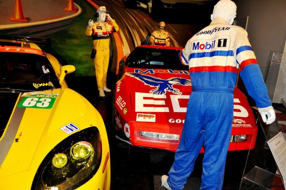 Corvette Museum -- The Racecars! 58 High-Res Photos -- Plus NCM Motorsports Park A High-Speed Dream 32