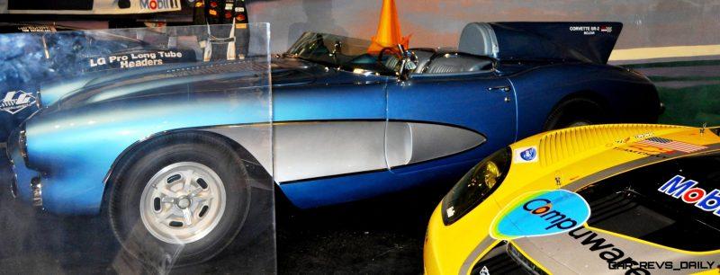 Corvette Museum -- The Racecars! 58 High-Res Photos -- Plus NCM Motorsports Park A High-Speed Dream 41