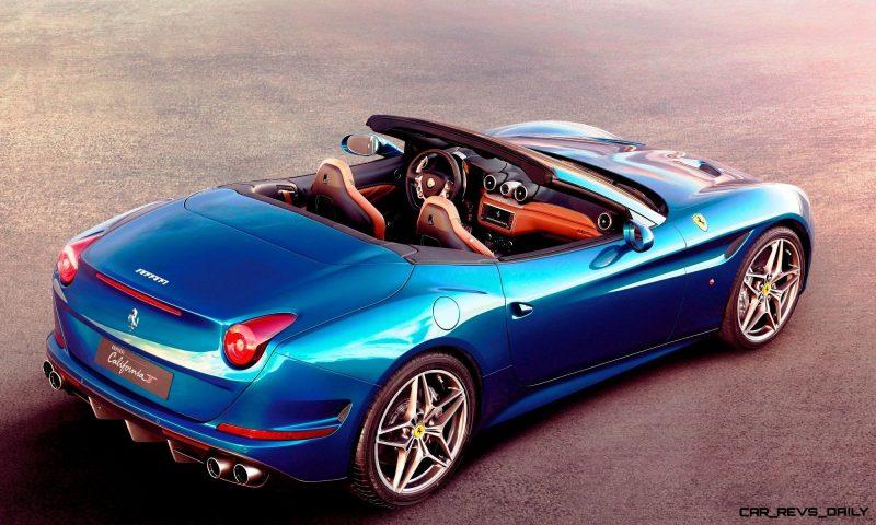 Ferrari Goes Turbo -- Geneva-bound California T Cabrio Packing 577Lb-Ft of Hissing Boost 11