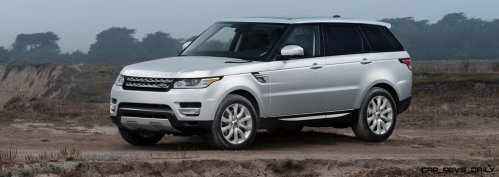 New Range Rover Sport HSE in 30 Fake-Life Photos 1