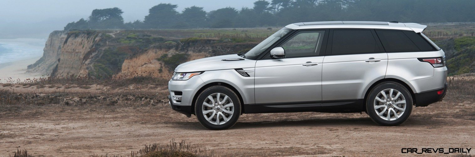 New Range Rover Sport HSE in 30 Fake-Life Photos 4