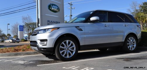 New Range Rover Sport HSE in 30 Real-Life Photos 1
