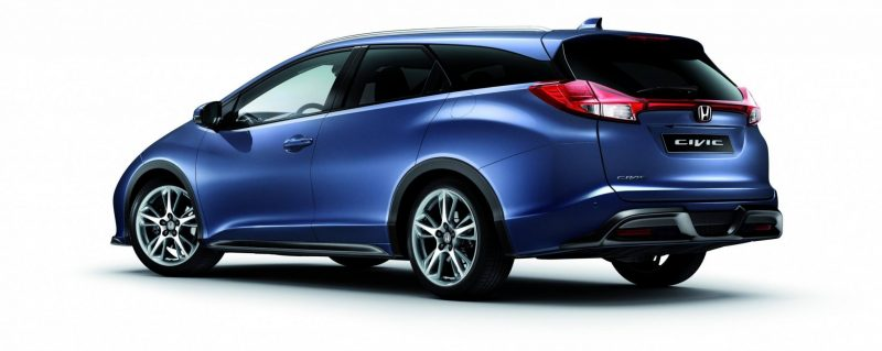 UK Honda Civic Tourer Touts Inner Beauty -- But This Wagon Is Gorgeous vs. Clinically-Depressed U.S. Civic 18