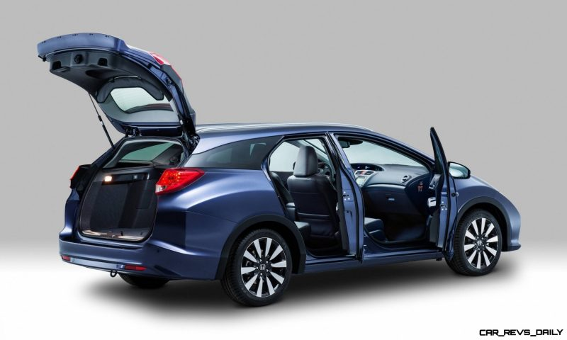 UK Honda Civic Tourer Touts Inner Beauty -- But This Wagon Is Gorgeous vs. Clinically-Depressed U.S. Civic 6