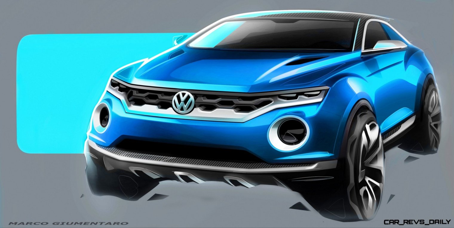 VW T-ROC -- A High-Tech Jeep Wrangler for the Digital Age -- Hot Style -- Real 4WD -- Removable Roof Panels 2