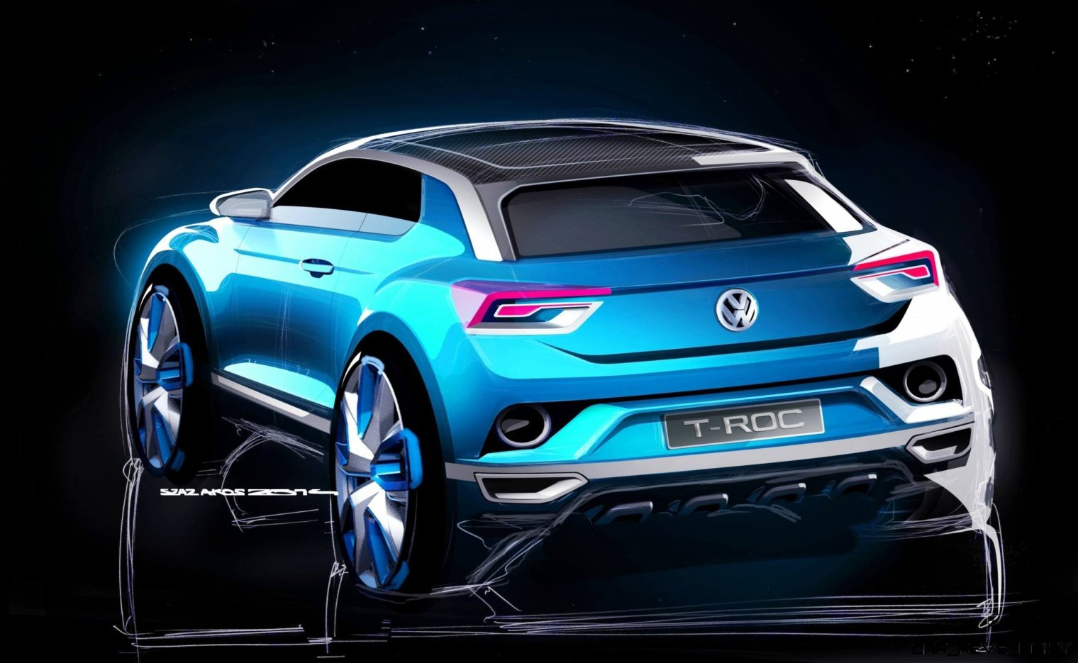 VW T-ROC -- A High-Tech Jeep Wrangler for the Digital Age -- Hot Style -- Real 4WD -- Removable Roof Panels 5