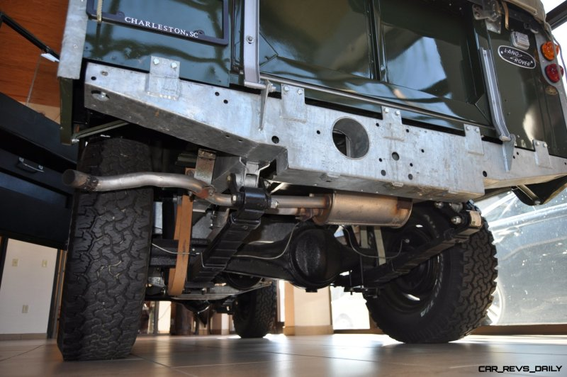 Video Walk-around and Photos - Near-Mint 1969 Land Rover Series II Defender at Baker LR in CHarleston 22