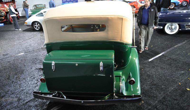 1932 Cadillac V-16 452B Madame X Imperial Sedan -- Gooding & Co. Amelia Island 2014 -- Sold for $264k 17