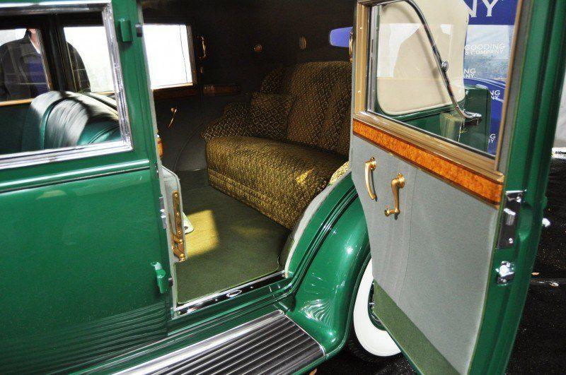 1932 Cadillac V-16 452B Madame X Imperial Sedan -- Gooding & Co. Amelia Island 2014 -- Sold for $264k 21
