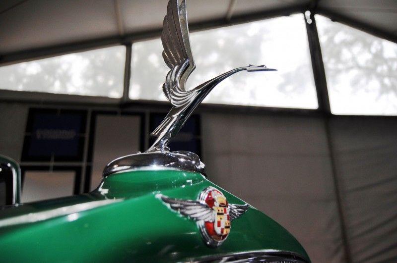 1932 Cadillac V-16 452B Madame X Imperial Sedan -- Gooding & Co. Amelia Island 2014 -- Sold for $264k 3