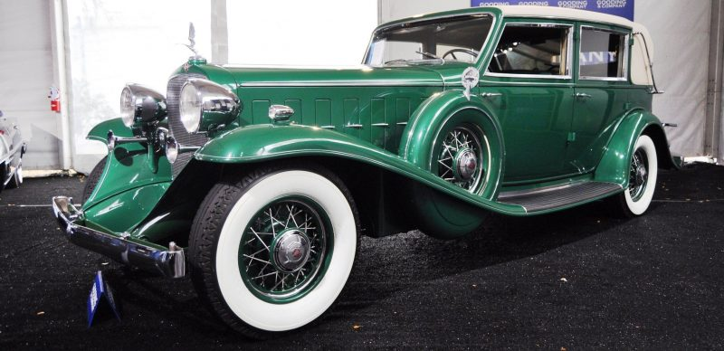1932 Cadillac V-16 452B Madame X Imperial Sedan -- Gooding & Co. Amelia Island 2014 -- Sold for $264k 8