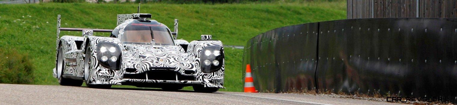 2013- Porsche LMP1 Rollout- Weissach