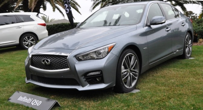 2014 INFINITI Q50S AWD Hybrid -- 1080p HD Road Test Videos & 50 Photos -- AAA+ Refinement and Truly Authentic Steering -- An Excellent BMW 535i Competitor 16
