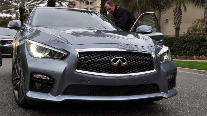 2014 INFINITI Q50S AWD Hybrid -- 1080p HD Road Test Videos & 50 Photos -- AAA+ Refinement and Truly Authentic Steering -- An Excellent BMW 535i Competitor 29