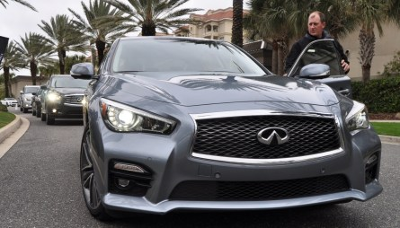 2014 INFINITI Q50S AWD Hybrid -- 1080p HD Road Test Videos & 50 Photos -- AAA+ Refinement and Truly Authentic Steering -- An Excellent BMW 535i Competitor 36