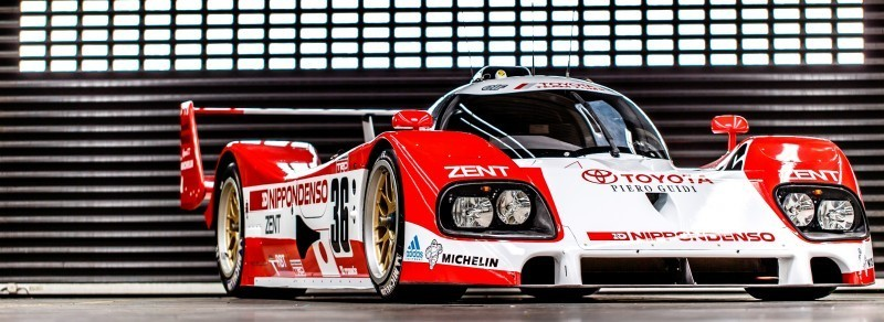 2014 LeMans LMP1 -- Toyota TS040 Hybrid -- A Dark Stallion in Audi vs. Porsche Battle -- Plus TS010 and TS020 Reunion 21