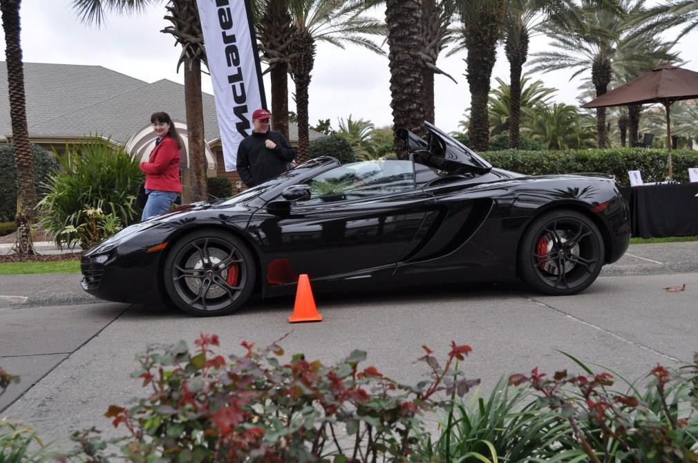 2014 McLaren 12C Spider Is Mobbed in Amelia Island! Failed Drop-top Animations 13